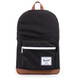Herschel Pop Quiz Zaino marrone/nero
